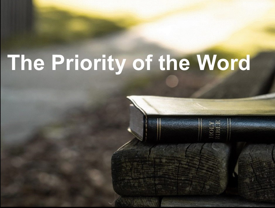 priority of the word (3)